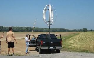 DARWIND5: новый дизайн ветровой турбины