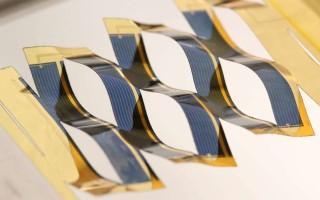 Новые солнечные батареи в стиле киригами, которые отслеживают солнце без трекеров
