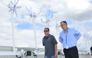 Крыша главного офиса Intel превращается в ветровую мини-электростанцию