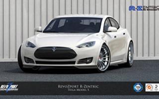 Тюнинг Tesla Model S от RevoZport