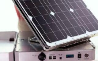 Новый портативный солнечный генератор SunSocket имеет бортовой трекер