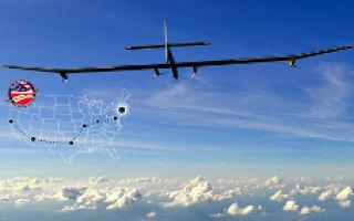 Solar Impulse — солнечный самолет перелетел Америку и вернулся домой