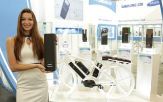 Компания Samsung представила новый аккумулятор для электрических велосипедов