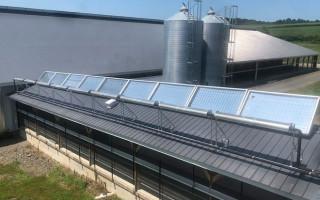 Новый солнечный коллектор Skyven производит пар в промышленных масштабах