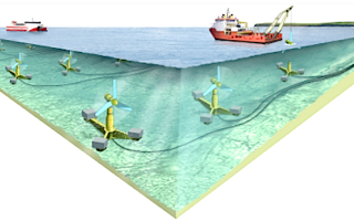 Строительство крупнейшей в мире приливной электростанции