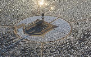 Ivanpah Solar Electric Generating System – самая мощная солнечная тепловая электростанция в мире