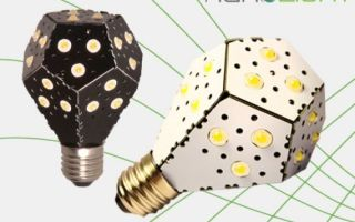 Nanolight – самая эффективная светодиодная лампа в мире