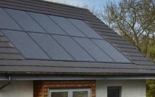 SunStation — черные солнечные панели интегрированные в крышу
