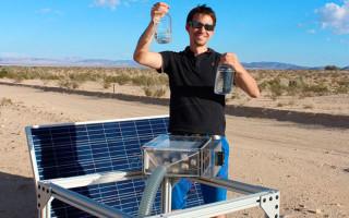 Инженеры создали харвестер, который добывает воду даже из сухого воздуха