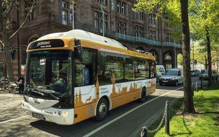 Электрические автобусы в Германии будут заряжаться на остановках