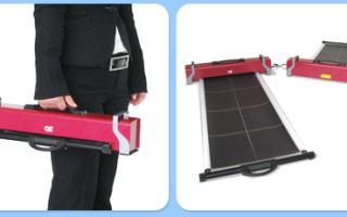 Мобильная солнечная установка GSR-110B