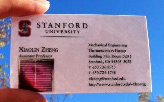 Исследователи из Стэнфорда создали солнечные батареи-наклейки