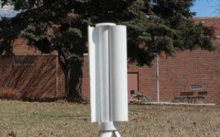 Портативная ветряная турбина Trinity