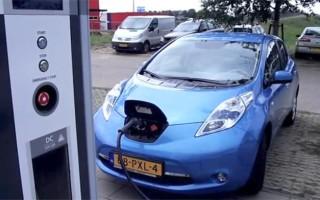 Голландцы проехали на электромобиле 1254 километра за 24 часа