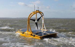Автономный катамаран начинает изучение Кельтского моря