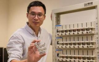 Новые литий-ионные батареи получат быструю зарядку