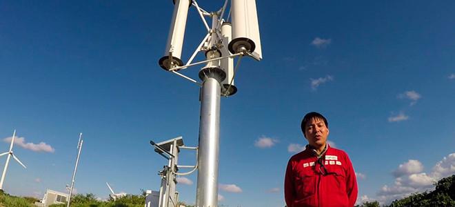 Преобразовывать мощь тайфунов в электроэнергию смогут японские ветряки Magnus VAWT