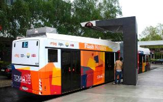 Электроавтобус с невероятной скоростью зарядки — менее 15 секунд