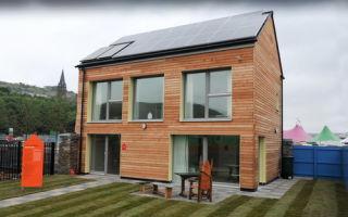 Первый экологически чистый «нулевой» дом в Великобритании