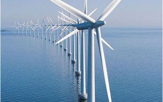 Walney Wind Farm в 2012 году стала самой большой морской ветроэлектростанцией в мире