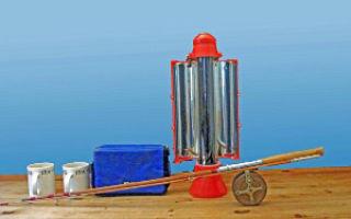 Солнечный Чайник, который кипятит воду используя солнечные лучи
