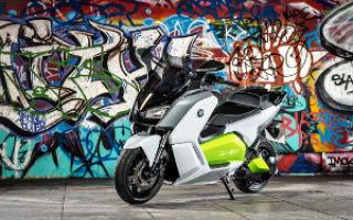 BMW C Evolution: «зеленая» революция в сегменте электроскутеров
