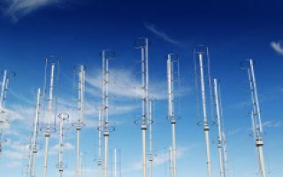 Новые вертикальные ветряные турбины