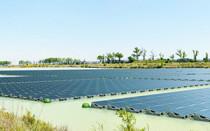 В Беркшире построена первая плавучая солнечная электростанция