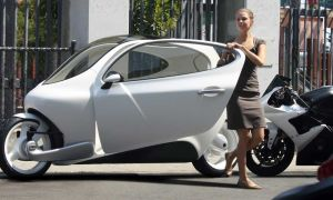 Lit Motors С-1 – электрический мотоцикл будущего