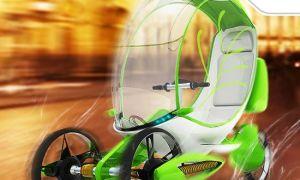 Фотосинтезирующий велосипед Co2