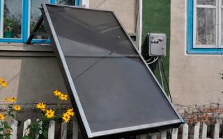Солнечный коллектор на окно: выгодное тепло для вашего дома