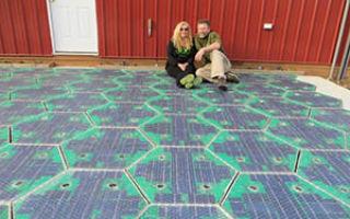 Solar Roadways : солнечные панели по которым можно ездить