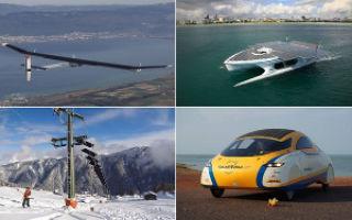 Транспорт Солнечного Города. ТОП-10 транспортных средств на солнечной энергии