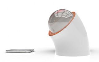 Rawlemon — хрустальный шар, как зарядное устройство