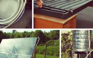 Солнечный коллектор для нагрева воды за 9 шагов