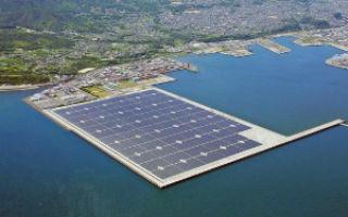 В Японии начала работу крупнейшая оффшорная солнечная электростанция