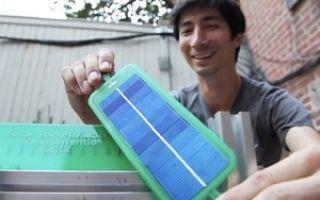 Мини-фабрика по производству солнечных панелей
