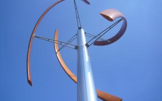 Ветротурбина Enessere Hercules использует энергию, поступающую со всех направлений