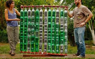 Как сделать солнечный водонагреватель из пластиковых бутылок за 6 шагов