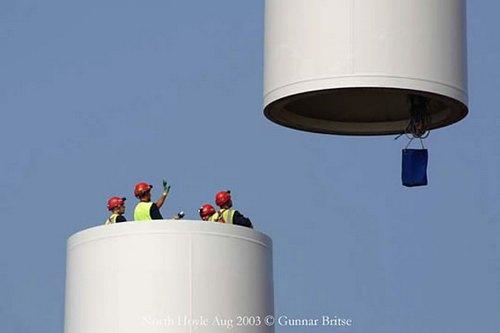 Оффшорные ветряные электростанции: обзор и установка