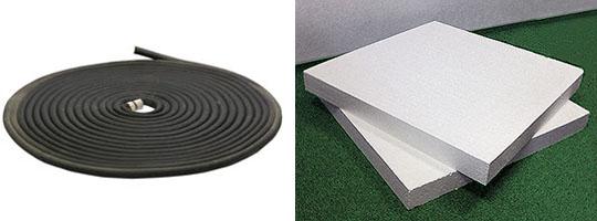 Основные материалы для солнечного коллектора из резинового шланга
