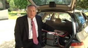 Гибрид из обычного автомобиля  - Видео
