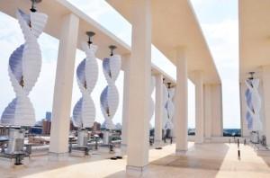 В Оклахома-Сити установлена крупнейшая в мире крышная ветровая электростанция