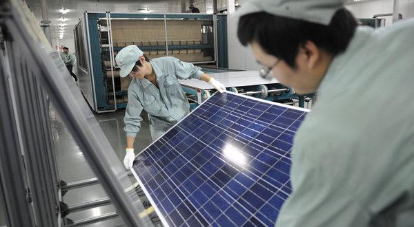 Развитие фотоэлектрического оборудования в Китае