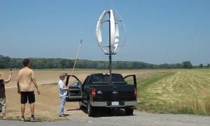Ветровая турбина с вертикальной осью