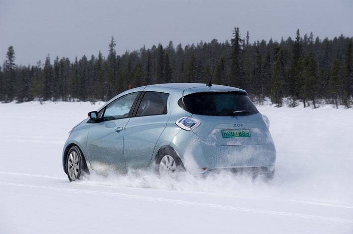 Особенности эксплуатации электромобиля в зимний период