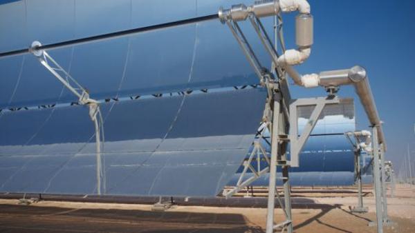 Запущена самая большая в мире солнечная электростанция Shams1!