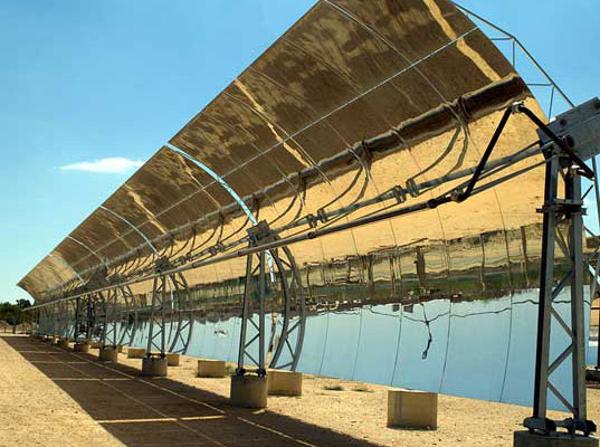 Solana - солнечная электростанция, работающая и после захода солнца