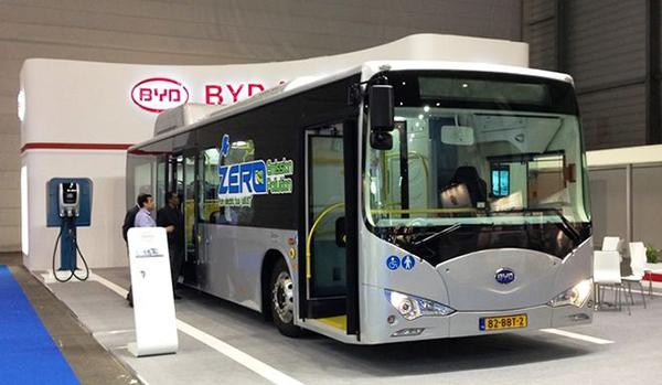 BYD установил новый рекорд в Европе — электробус китайского производства проехал 325 километров на одной зарядке