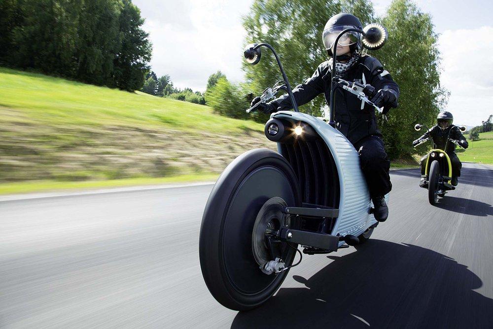 Экзотический мотоцикл на электричестве от Johammer